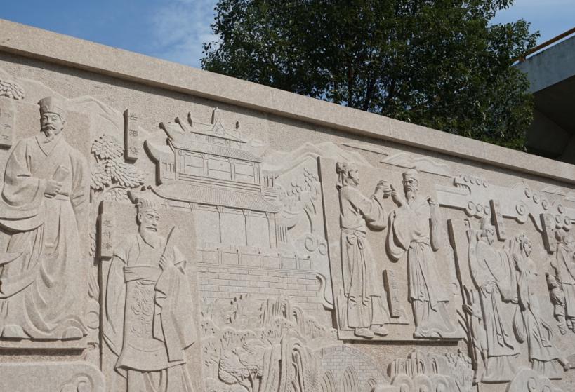 地方特色_富有地方特色的文化雕塑墙